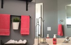 Coral Color Bathroom Decor Fresh 30 Cozy Coral Color Ideas For Bathroom