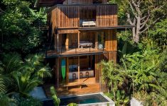 Costa Rica House Plans Luxury Olson Kundig S Sustainable Teak Holiday House In Costa Rica