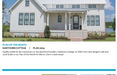 Cottage Living Magazine House Plans Elegant The Walnut Cottage A Charming 1st Place Design