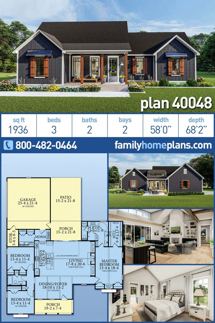 Country Homes House Plans 2020