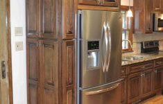 Custom Kitchen Cabinet Doors New Custom Maple Cabis Finished In A Walnut Stain And Then A