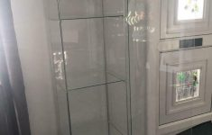Detolf Glass Door Cabinet Awesome Ikea Detolf Glass Door Cabinet White In Blackwood Caerphilly