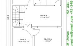 Drawing Plans For A House Luxury 4 Marla House Plan – Glory Architecture