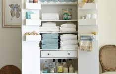 Free Standing Storage Cabinets With Doors Best Of Freestanding Cabinet For Craft & Linen Storage