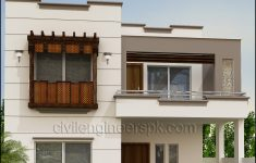 Front Portion Design Of House Awesome Front Views Civil Engineers Pk