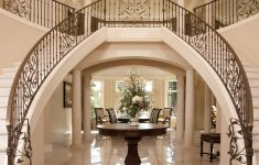 Home Entrance Stairs Design Best Of Luxury Iron Banister Dual Staircase Grand Entryway