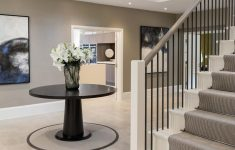 Home Entrance Stairs Design Elegant The Striking Open Plan Entrance Hall For Our Mulberry Show
