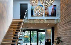 Home Entrance Stairs Design Inspirational Entrance Hallway In Elegant Modern House In West Vancouver