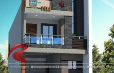House Design Picture Gallery Fresh 3d Narrow House Designs Gallery