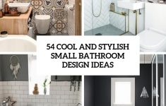 How To Decorate Small Bathroom Unique 54 Cool And Stylish Small Bathroom Design Ideas Digsdigs