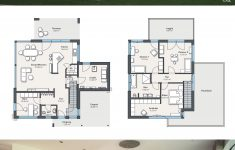 Interior House Plans With Photos Luxury House Plans With 2 Story 4 Bedroom & Flat Roof Modern