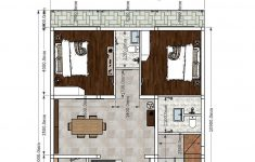 Interior House Plans With Photos New Interior Home Design Plan 9x12m 2 Bedrooms