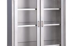 Metal Cabinet With Glass Doors Lovely Medwurx Mobile Stainless Steel Instrument Supply Cabinets With Glass Doors Sale