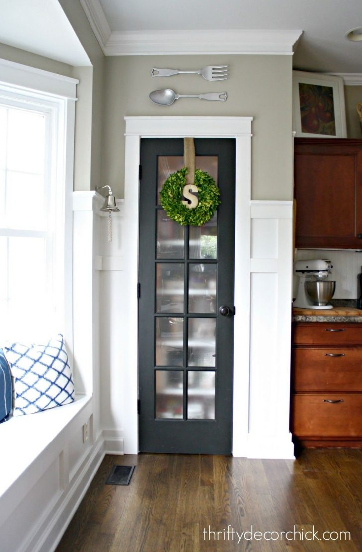 Pantry Cabinet with Glass Doors 2021