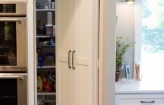 Pantry Cabinets With Doors Elegant The Latest Trends In Kitchen Pantries