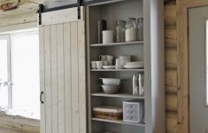 Pantry Cabinets With Doors Inspirational Barn Door Cabinet Or Pantry