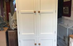 Pantry Cabinets With Doors Inspirational Freestanding Four Door Kitchen Larder Pantry Cupboard