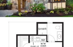 Plans For Cottages And Small Houses New Tudor Style House Plan 1 Beds 1 Baths 300 Sq Ft Plan 48