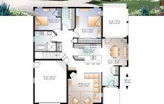 Ranch Style House Plans With Open Floor Plans New Ranch Bungalow House Plan With Galley Kitchen Op