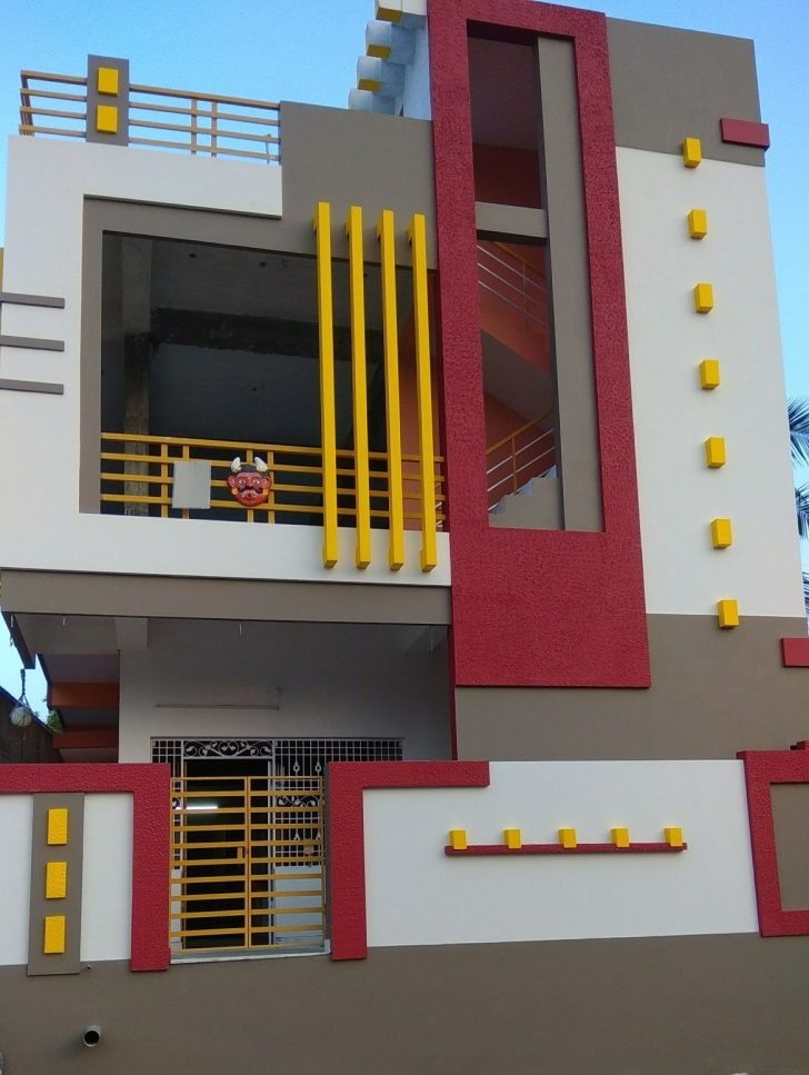 Simple House Front View Design 2021