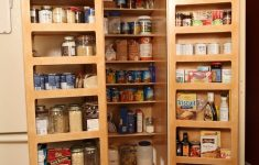 Single Door Pantry Cabinet Luxury Kitchen Pantry Double Fold Out Doors