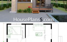 Small House Design Pictures Inspirational Small House Design Plans 6x8 With 2 Bedrooms