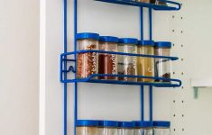 Spice Cabinet With Doors Luxury How To Add A Spice Rack To An Ikea Cabinet Door