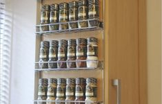 Spice Cabinet With Doors Luxury Wall Spice Rack Ideas Home Interior Design Styles Kitchen