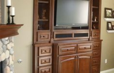 Tv Cabinet With Doors For Flat Screen Luxury 55 Inch Tv Stand Walmart — Melissa Francishuster Home Design