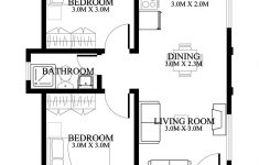 Two Bedrooms House Plans Luxury Small And Simple House Design With Two Bedrooms Ulric Home