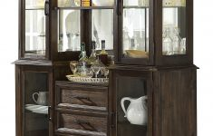 White China Cabinet With Glass Doors Unique Serrato Dining Hutch