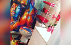 African Bathroom Decor Unique Romantic Afro Black King With Queen Shower Curtain Bathroom Decor