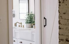 Barn Door Bathroom Cabinet New Bathroom Bathroom Barn Door Fascinating Lowes Vanity