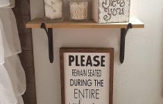 Bathroom Sign Decor Elegant Please Remain Seated During Entire Performance Christmas Wooden Signs Bathroom Decor Funny Bathroom Sign Over The Toilet Sign Farmhouse Sign