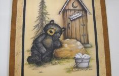 Bear Bathroom Decor Best Of Buy Occupied Outhouse Country Bear Bathroom Sign Lodge Bath