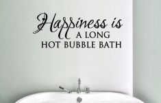 Bubble Bathroom Decor Inspirational Bubble Bath Vinyl Decal Happiness Bathroom Decor