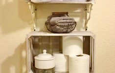 Country Themed Bathroom Decor Lovely French Country Farmhouse Bathroom Storage Shelves & Decor