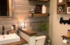 Decorate Bathroom Ideas Unique Rustic Country Home Decor Ideas 7