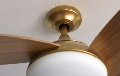 Decorative Bathroom Exhaust Fan With Light Luxury My Favorite Ceiling Fan…and I Painted It Gold
