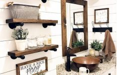Farmhouse Bathroom Decor Fresh 40 Best Farmhouse Bathroom Decor Ideas 22