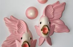 Fish Wall Decor For Bathroom New Vintage Pink Angel Fish Bathroom Decor Plaster Plaques Fish