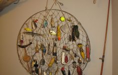 Fishing Themed Bathroom Decor Awesome A Great Way To Display Those Old Fishing Lures