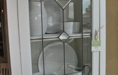 Glass Kitchen Cabinet Doors For Sale Lovely White Leaded Glass Cabinet