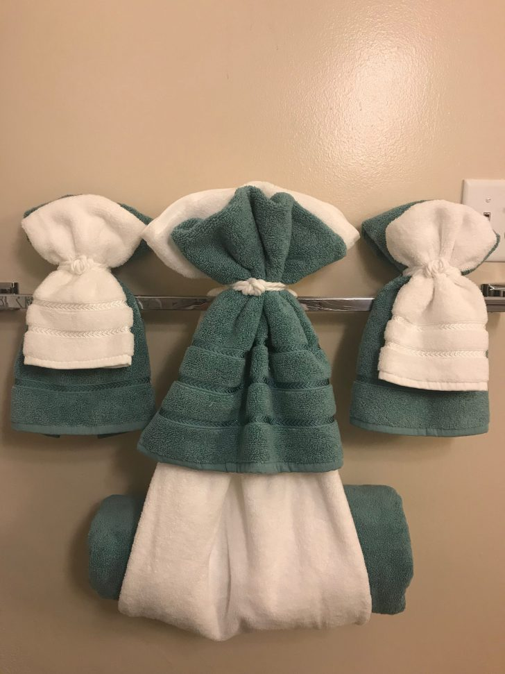 How to Decorate Bathroom towels 2021