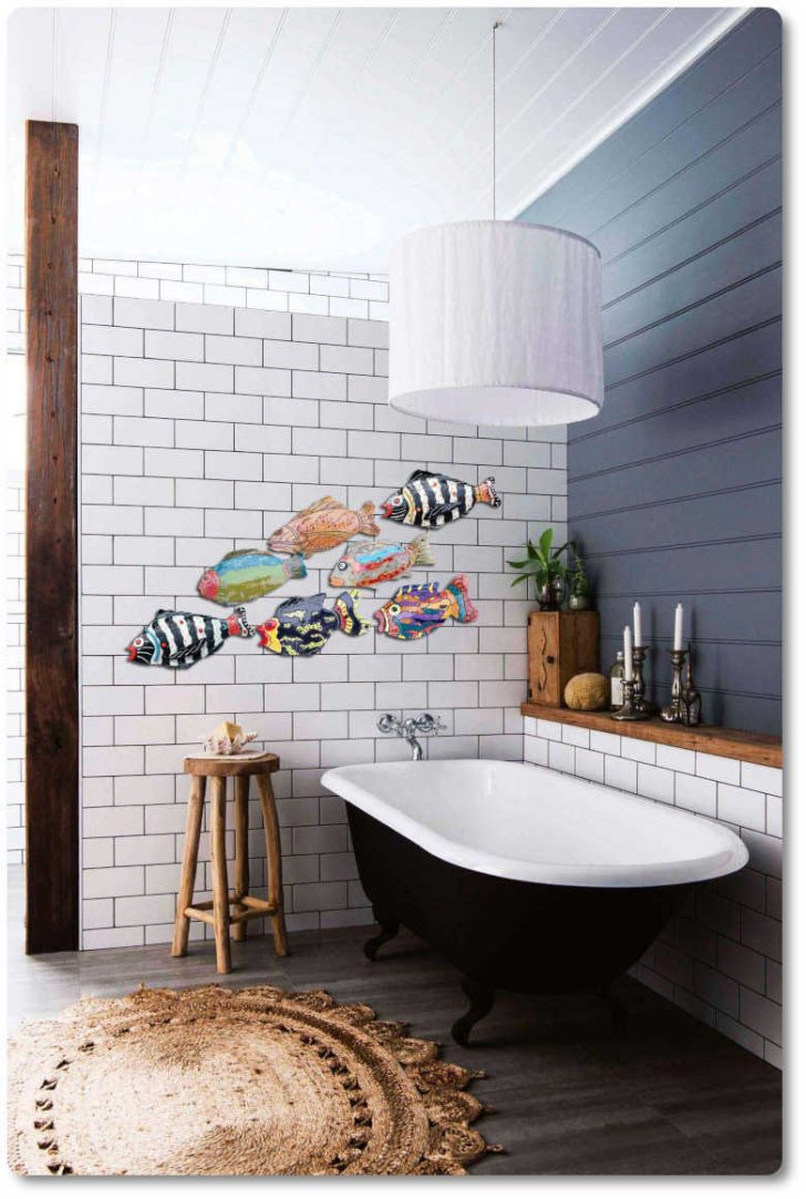 How to Decorate Bathroom Walls 2021