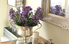 Lavender Bathroom Decor Elegant End Of Summer Blooms