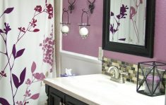 Lavender Bathroom Decor Lovely For Second Bathroom Purple And Black Maybe A Black Shower