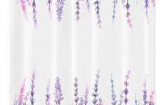 Lilac Bathroom Decor New Ambesonne Purple Stall Shower Curtain Lavender Plants Aromatic Evergreen Shrub Of Mint Family Nature Oil Country Style Print Fabric Bathroom Decor