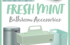 Mint Bathroom Decor Awesome Rooms Edit Mint Bathroom Accessories With Neo Mint