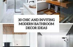 Modern Bathroom Decor Awesome 12 Bathroom Decor Modern Most Of The Nicest And Grand